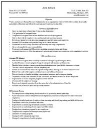 Resume Sample For Human Resource Position by Content Rich Resume Sample For Hr Manager With Good Work