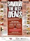 Savour The Best Deals Food Festival - Singapore Everyday On Sales ...