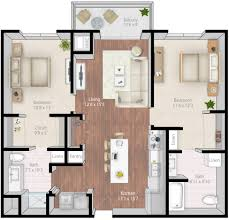 Ada Home Floor Plans by Mill U0026 Main Luxury Apartments Floor Plans