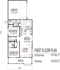 House Plans With 3 Car Garage by Small Low Cost Economical 2 Bedroom 2 Bath 1200 Sq Ft Single Story
