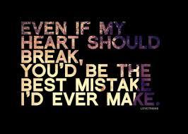 Kadang hati tak mampu menahan rasa :)