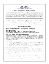 Construction Management Resume Examples 100 manager of operations resume office manager resume
