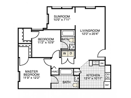 Sunroom Floor Plans by 2 Bed 2 Bath Apartment In Myrtle Beach Sc River Landing