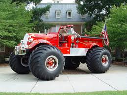 how many monster jam trucks are there fire truck pictures game live with this huge rc ride in tank