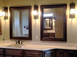 wood framed bathroom mirrors 118 enchanting ideas with framed