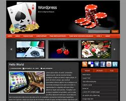 Wordpress Poker Theme
