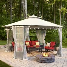 Lowes Gazebos Patio Furniture - this spring practically live outdoors with this durable weather