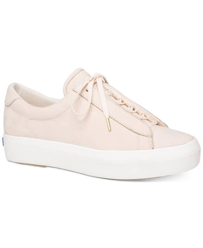 Keds Rise Metro Nubuck Light Pink Ankle-High Sneaker 9M