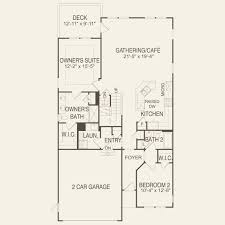 Floor Plans With Loft Blue Rock With Loft At Kensington In Plymouth Massachusetts Pulte