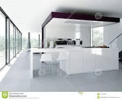 Kitchen Interior Photo Modern Kitchen Interior Design Concept 3d Stock Photo Image