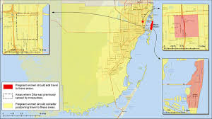 Florida Area Code Map by Cdc U0027s New Miami Zika U0027red Zone U0027 Means Stay Out For Pregnant Women