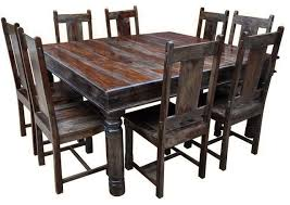 fashionable design ideas solid wood dining table and chairs all