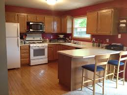 kitchen paint colors with oak cabinets home design ideas pretty