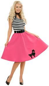 50s Halloween Costume Ideas Poodle Skirt U0026 Scarf Costume Poodle Skirts