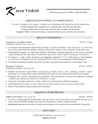 Customer Services Resume Sample by Administrative Support Resume Best Personal Assistant Resume