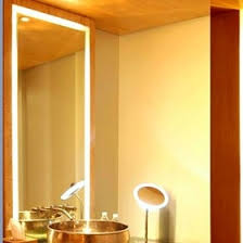 Bathroom Mirror With Lights Built In by Bathroom Mirror With Led Lights Led Bathroom Mirror Hotel Led