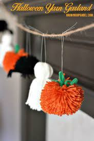 easy halloween garland halloween garland easy halloween and