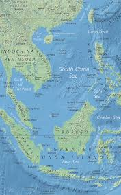 Fuzhou China Map by Political Map Of South China Sea Nations Online Project