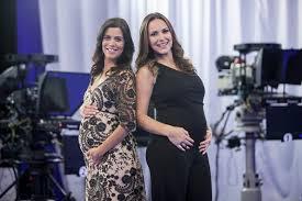 Apresentadoras do Esporte Fantástico engravidam ao mesmo tempo