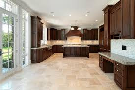Kitchen Floor Tile Ideas With White Cabinets Wide Plank Flooring In Small Spaces Wood Floors From Carlisle Also