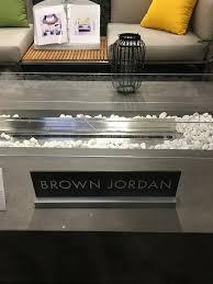 Brown Jordan Fire Pit by Outdoor Elegance Patio Design Center Patiostylist