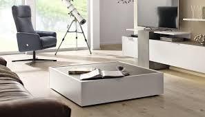 Wohnzimmertisch Modern Moderner Couchtisch Beton Aus Eiche Quadratisch Ct 180