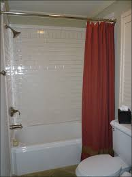 inspiration bathroom fine looking red shower curtain in small