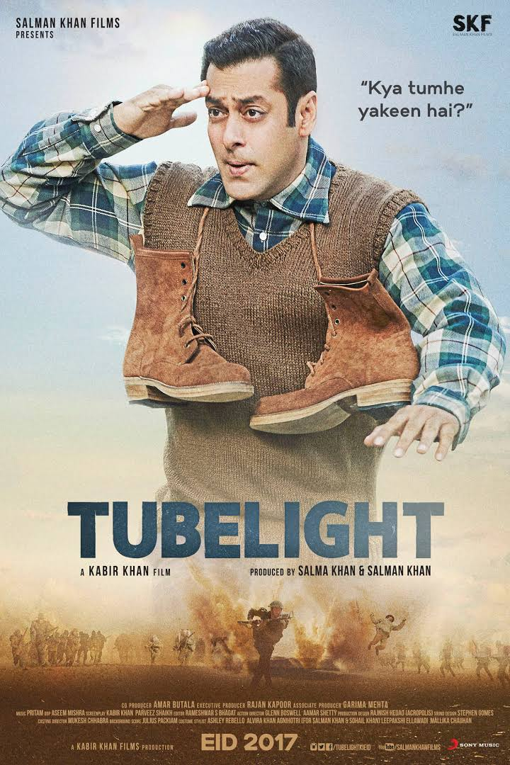 Tubelight (2017) Hindi DVDRip 720p 900MB ESubs MKV