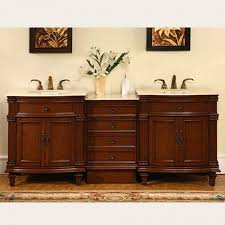 80 inch double sink bathroom vanity with marble counter top uvsr020580