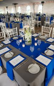 Silver Centerpieces For Table Best 25 Royal Blue Centerpieces Ideas On Pinterest Royal Blue