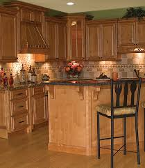 Kitchen Oak Cabinets by Oak Cabinets And Granite Kitchens Pinterest Granite