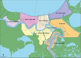 Ninth Ward New Orleans Map by Overview Of New Orleans Levee Failures Lessons Learned And Their
