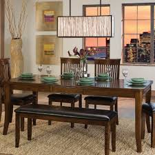 Ashley Furniture Dining Room Chairs Dining Tables Bench Table Set Ashley Furniture Dining Room Sets