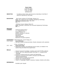 Sample Resume Objectives For Web Developer by Resume Objective For Part Time Job Resume For Your Job Application