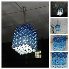 made this lantern with waste newspapers diwali newspaper and