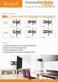 wall mounted cable management system lpa36 443a economy solid articulating curved u0026 flat panel tv wall