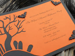 halloween party invitation templates cimvitation spooktacular