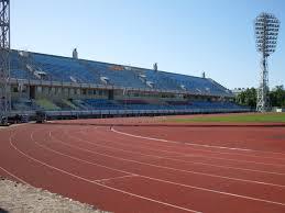 Daugava Stadium in Riga