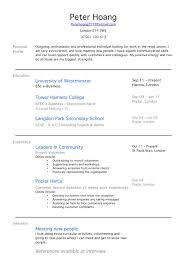 Nursing Student Sample Resume by Resume For High Students With No Experience New Grad