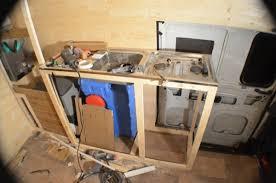 Making The Kitchen Cupboards Vandog Traveller - Kitchen sink cupboards