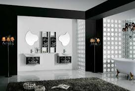 Black And White Small Bathroom Ideas Black White And Red Bathroom Decorating Ideas Designs And Colors