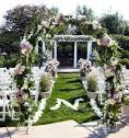 15 spring outdoor wedding decorations