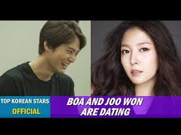 BoA and actor Joo Won are dating
