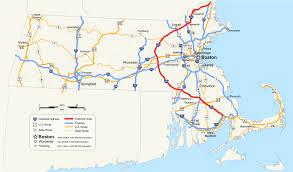 T Boston Map by Interstate 495 Massachusetts Wikipedia