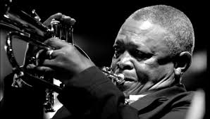 Hugh Masekela is very much