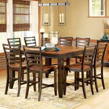 steve silver company ab500pt abaco counter height dining table