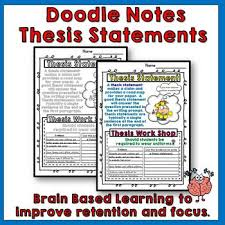 research paper thesis statement How to write an essay  introduction to the thesis statement