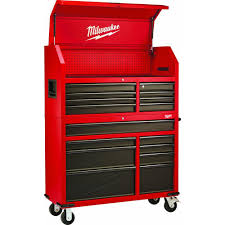 home depot black friday 2016 tools sale milwaukee 46 in 16 drawer tool chest and rolling cabinet set red