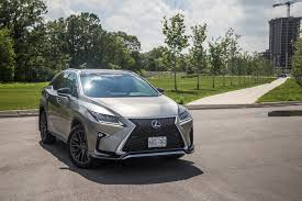 lexus made in canada review 2017 lexus rx 350 f sport canadian auto review