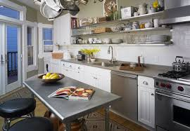 increased kitchen functionality stainless steel work tables